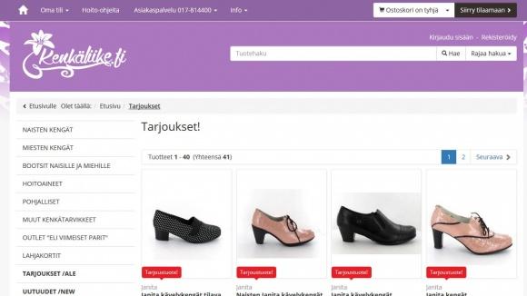 Kenkäliike.fi