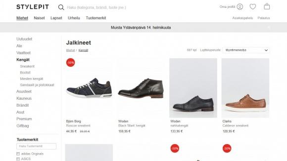 Stylepit kengät
